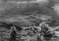 bergige landschaft by karl friedrich lippmann