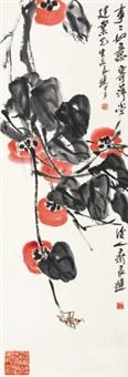事事如意 镜心 纸本 by qi liangchi