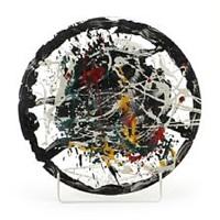 glass dish by robert jacobsen