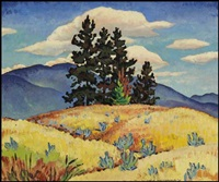 sagebrush & bullpine, kelowna, bc by james (jock) williamson galloway macdonald