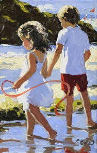 sea shore stroll by sherree valentine daines