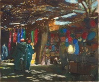 souk à marrakech by jacques majorelle