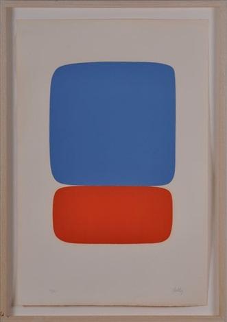 red & blue by ellsworth kelly