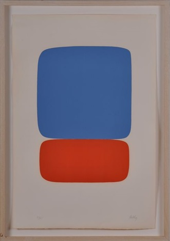 red blue by ellsworth kelly