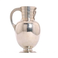 bacchus wine jug by s&m benzen (co.)