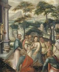 christus warnt seine jünger vor den gefahren des reichtums (mk. x, 23-27) by flemish school (16)