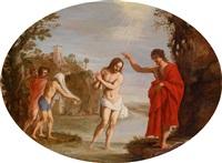die taufe christi im jordan by filippo d' angeli