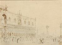 view of venice by italian school-venetian (19)
