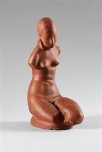 sitzender weiblicher torso by adam antes