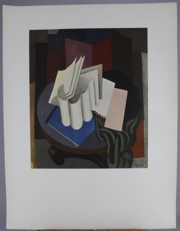 composition cubiste mars 95 works by roger de la fresnaye