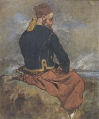 bildnis eines italienischen soldaten bei solferino by auguste bachelin