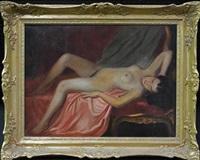 reclining nude by gyula asztalos