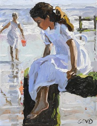seaside reverie by sherree valentine daines