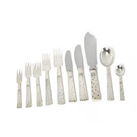 champagne cutlery (set of 75) by jens quistgaard