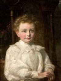 retrato de niño by fernando alvarez de sotomayor y zaragoza