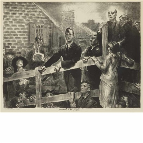 the appeal to the people by george wesley bellows