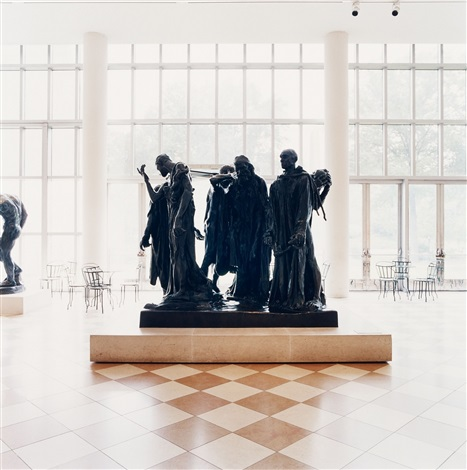 the metropolitan museum of art new york from the series burghers of calais by candida höfer