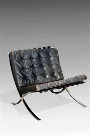 Poltrona Mies Van Der Rohe.Poltrona Modello Barcelona By Ludwig Mies Van Der Rohe On Artnet