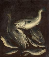 stillleben mit fischen by isaac van duynen