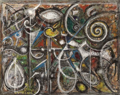 spiral by richard pousette dart