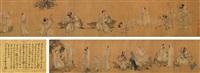 十八罗汉图 by ding yunpeng