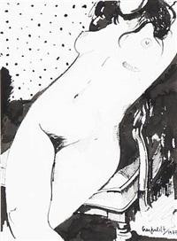 woman by hans henrik lerfeldt