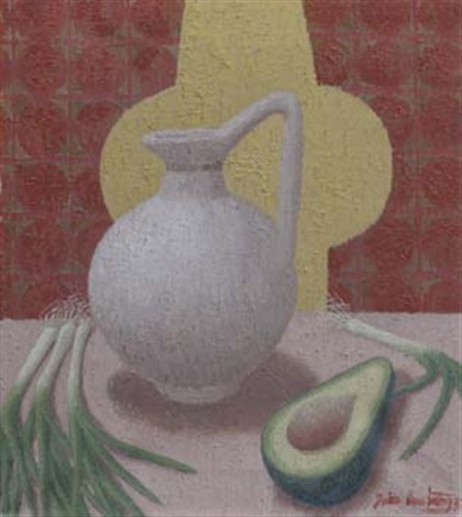 avocado and jug by john armstrong