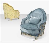 bond, an armchair by mattia bonetti