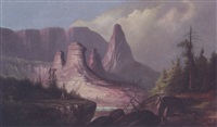 western landscape by george frederick bensell