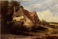 a cottage near kinfield, kent by thomas christopher hofland