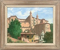 the ducal palace, urbino by gordon davies