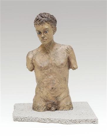 männlicher torso (sempre più) by stephan balkenhol