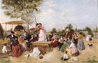 fiesta en el campo by manuel cabral aguado bejarano