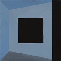 billedrum/sort kvadrat (pictorial / black square) by albert mertz