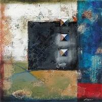untitled - three vertical squares by pietro adamo