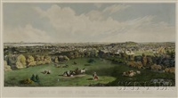 environs of boston from cory's hill, brookline, massachusetts by john henry bufford