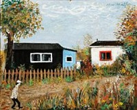 allotment huts in denmark by max müller