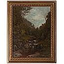 woodland brook by alexander helwig wyant