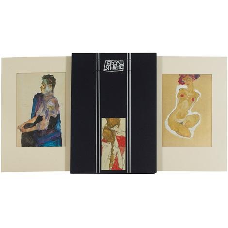 faksimile der moderne 1 portfolio w6 works by egon schiele