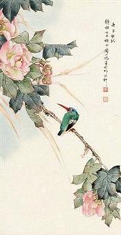 花枝翠鸟 by zhou yihong