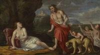 bacchus und ariadne by johann heiss
