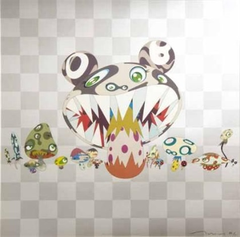here comes the media by takashi murakami