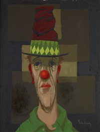 clown by pelle aberg
