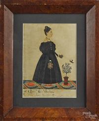 portrait of betsy c. sanborn by joseph h. davis