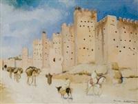 les remparts de marrakech by pierre lissac