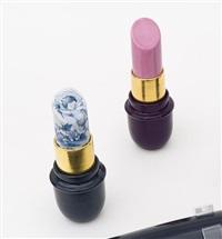 pinck lipstick (+ delft lipstick, smllr; 2 works) by giorgio laveri