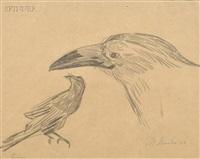 raven by morris graves
