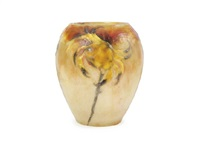 vase : crabs and algae by gabriel argy-rousseau