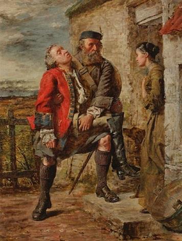 scene from the rebellion by william ewart lockhart