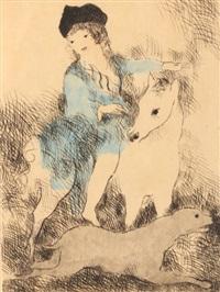 la promenade...a cheval by marie laurencin